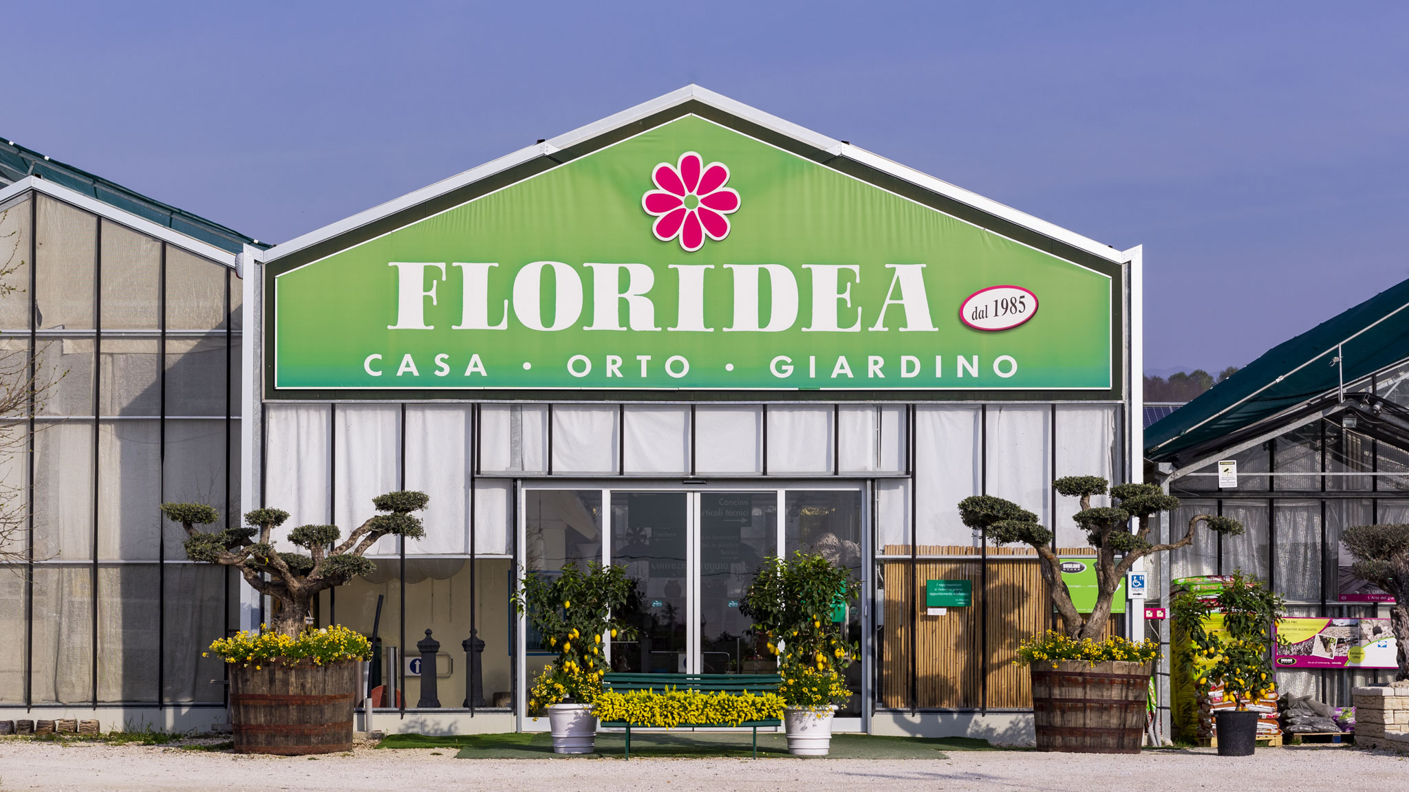 FLORIDEA: VIVAIO FIORI PIANTE CASA ORTO GIARDINO